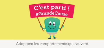 Adoptons les comportements qui sauvent : lancement de la Grande cause nationale 2016