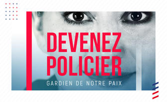 La police nationale recrute.