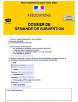 Dossier de subvention (Cerfa n°12156*05, version 2017)