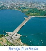Dispositif au barrage de la Rance